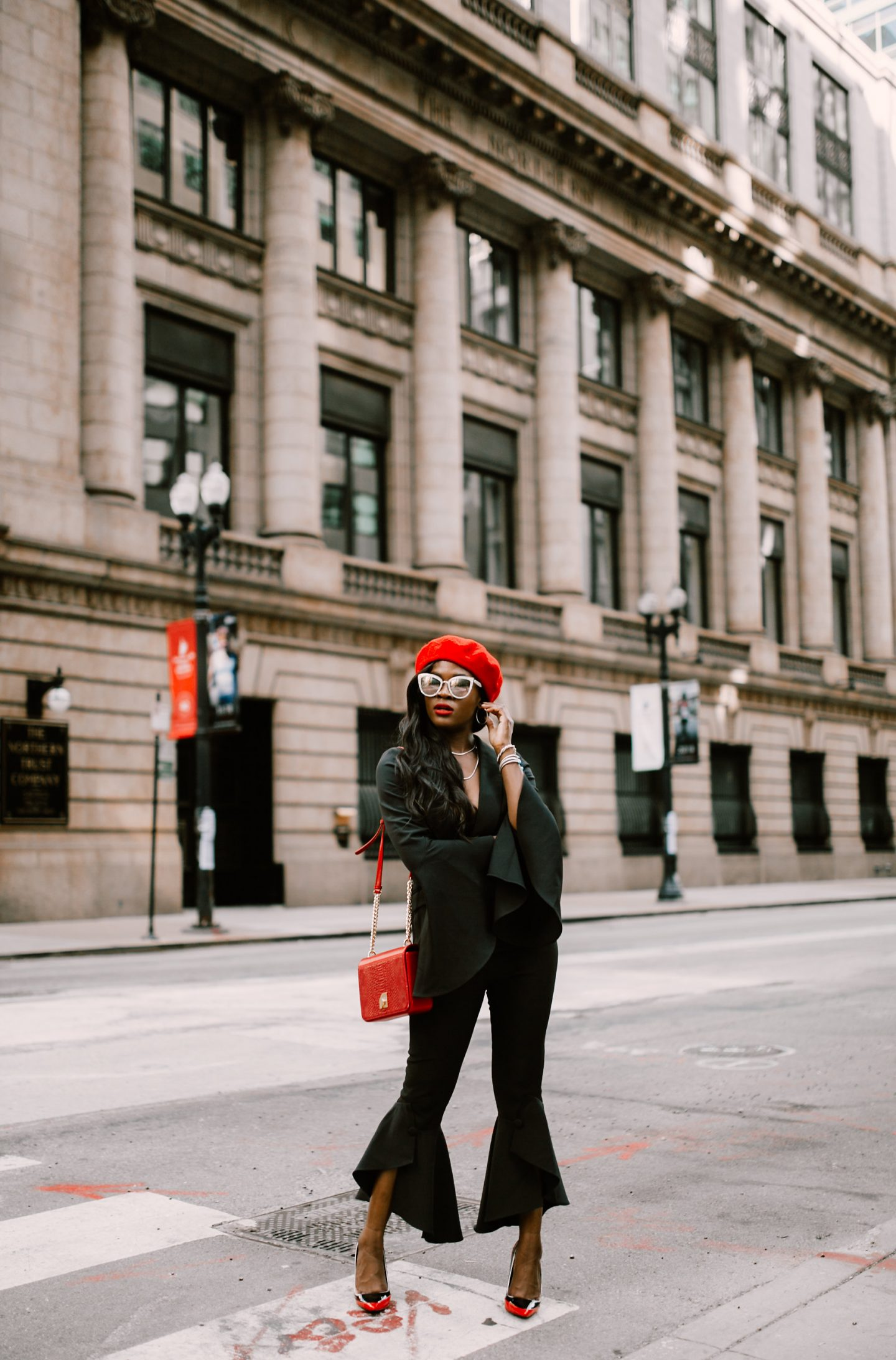 Lavish Alice black Suit, Jennifer Ibe, Cranberry Tanturms