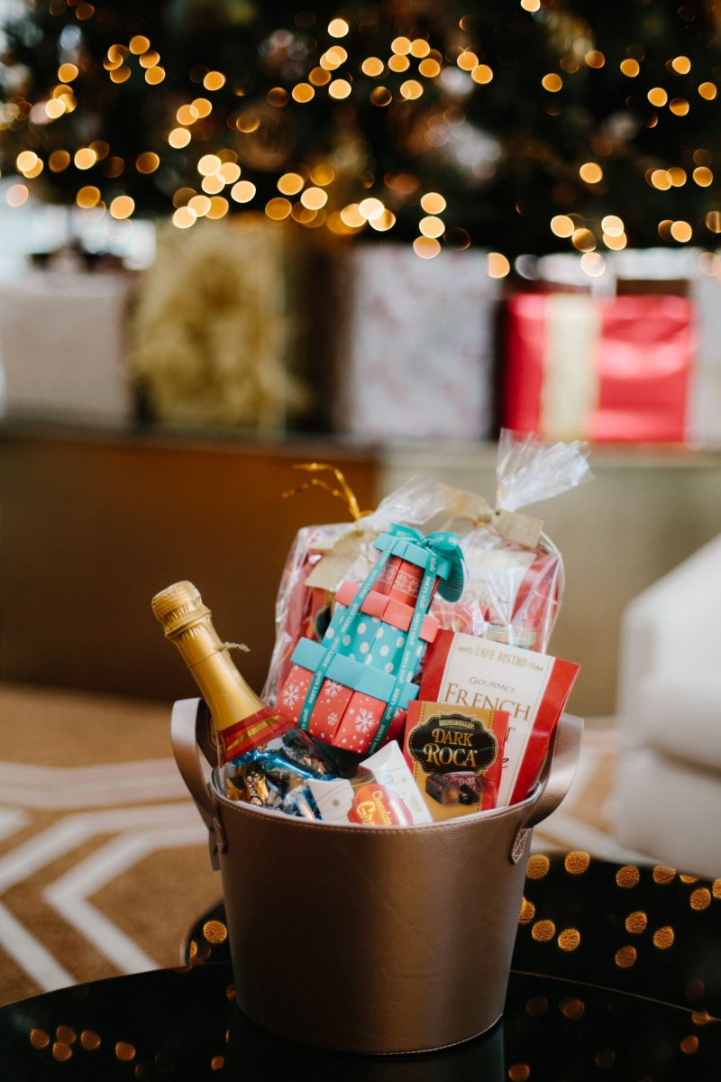 Gift baskets from Gordmans, Cranberry Tantrums, Holiday gift ideas