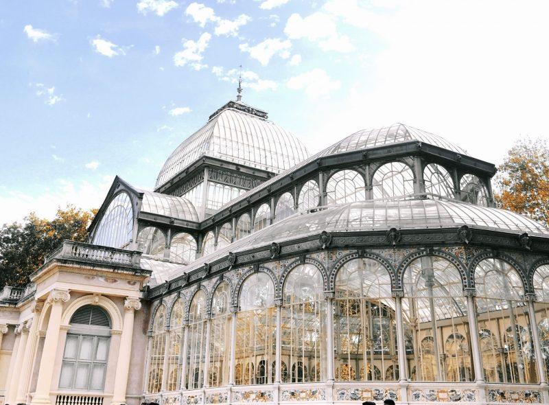 Palacio de Cristal, Madrid Spain, Cranberry Tantrums, Madrid Travel Diaries