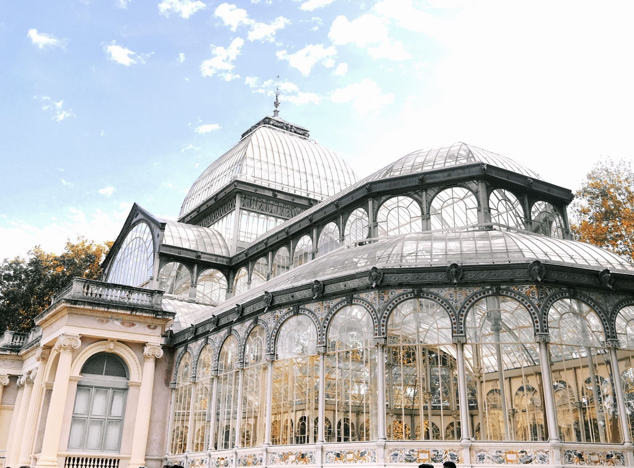 Palacio de Cristal, Madrid Spain, Cranberry Tantrums, Madrid Travel Diaries