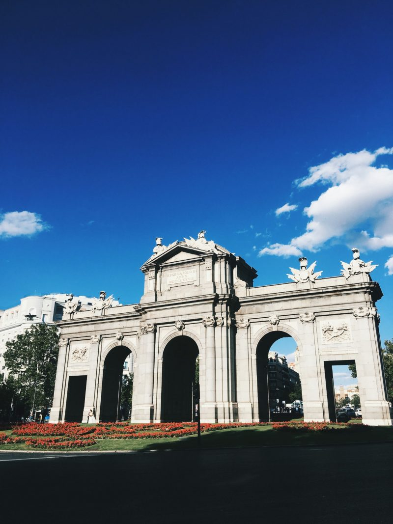 Puerta de Alcala; Travel Blogger, Madrid Travel Guide