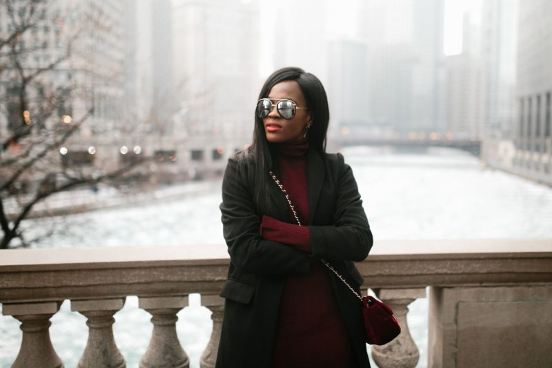 Winter Fashion, Chicago Blogger, Cranberry Tantrums