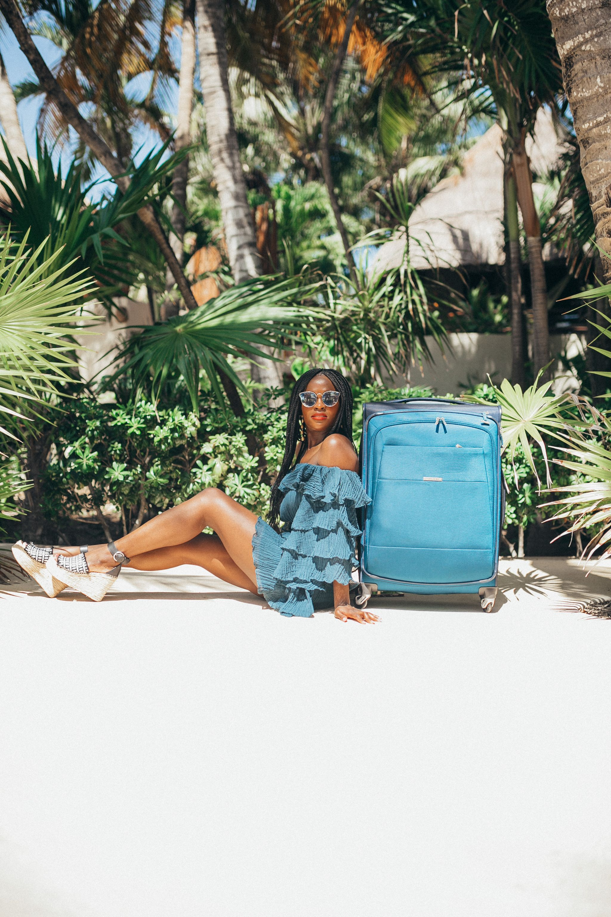 Samsonite ECO-Nu, Cranberry Tantrums in Mexico, Jennifer Ibe