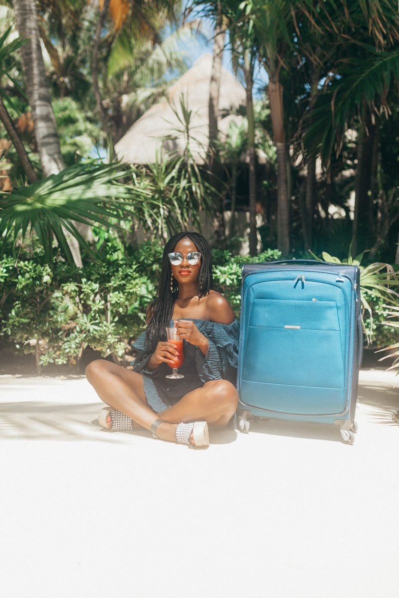 Jennifer Ibe, Travel Blogger, Mexico, Samsonite ECO-Nu