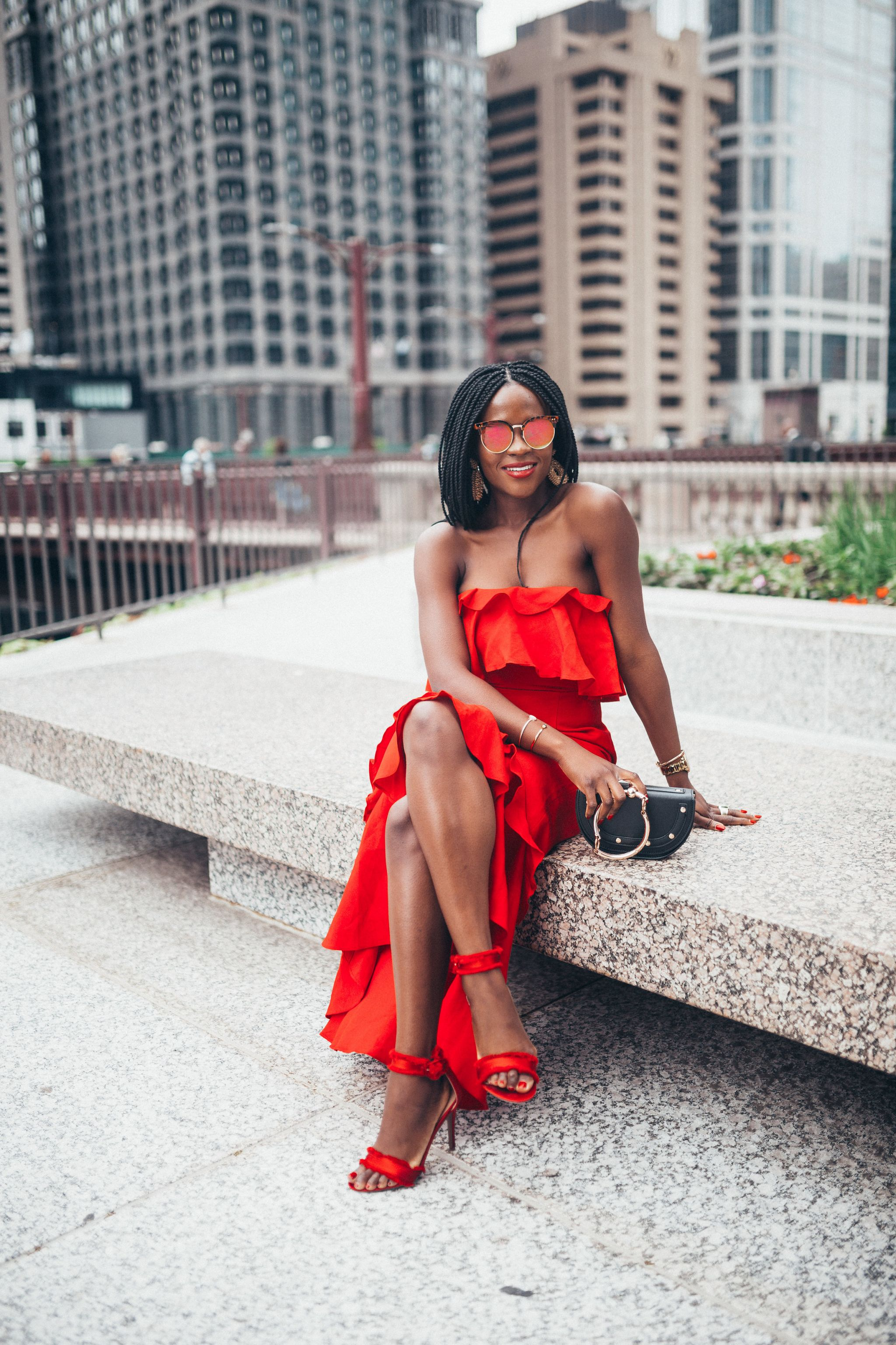 lessons from my 20s; Red dress