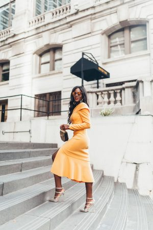 Summer Marigold two piece top and skirt