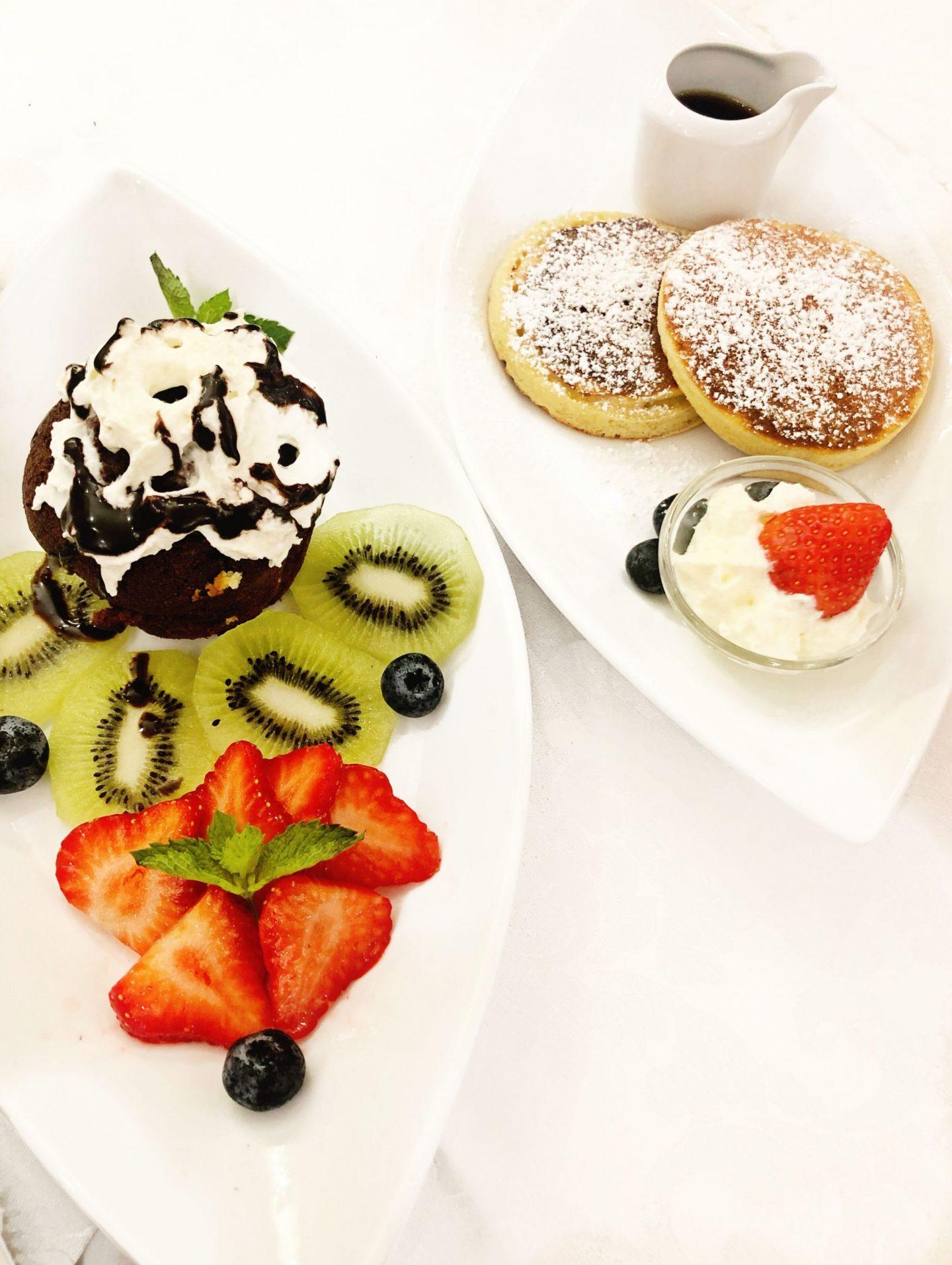 Breakfast at Hotel Barocco