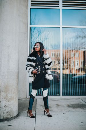 Statement pieces : Faux fur Coat