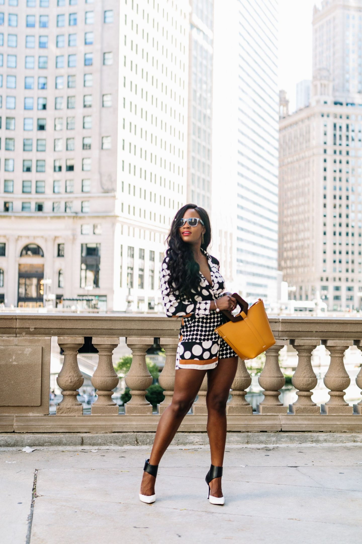 How to wear in a romper in Chicago