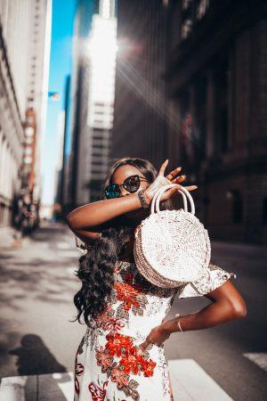 Summer Straw bag