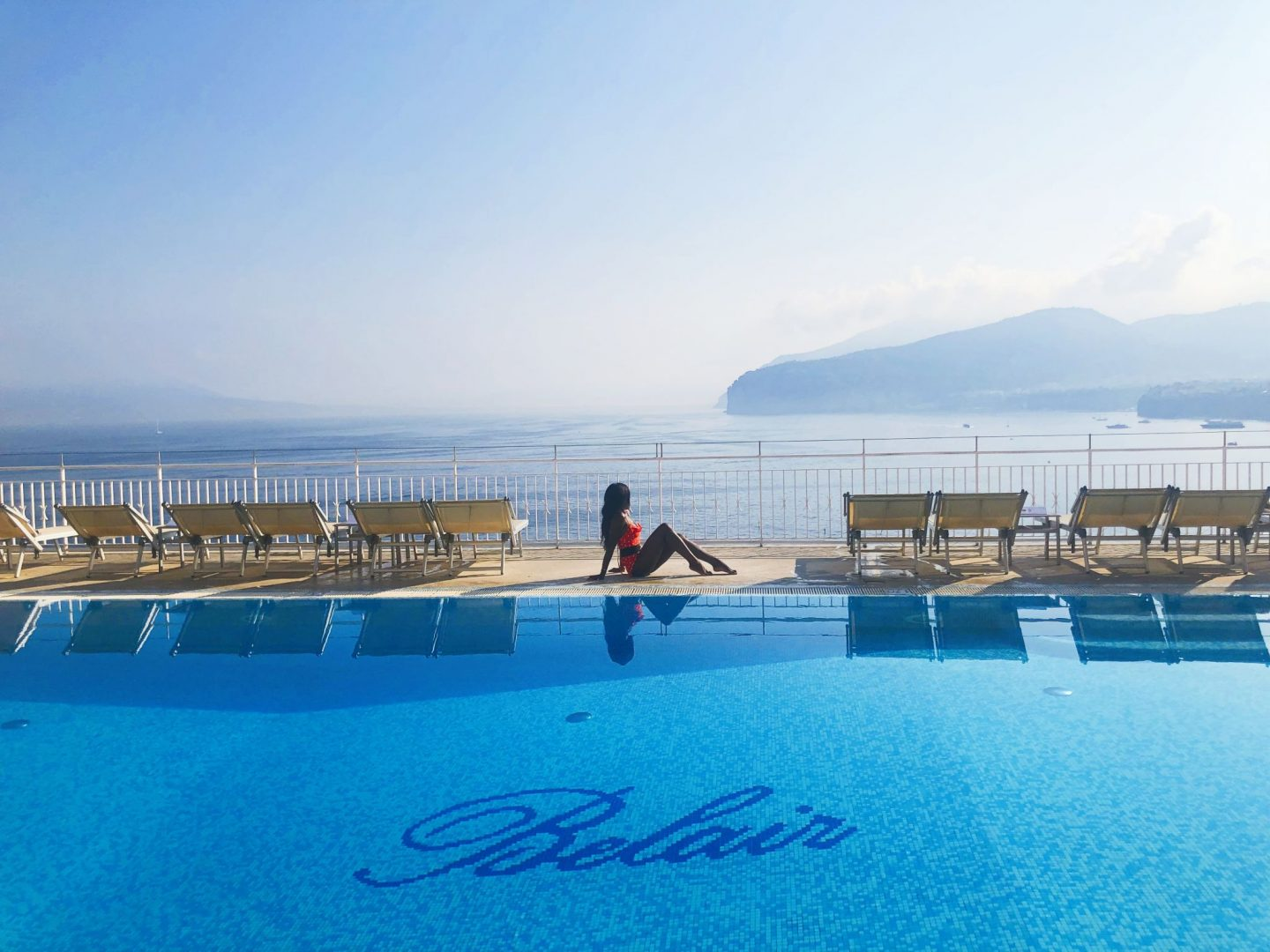 Best Hotel Pool in Sorrento Italy, Cranberry Tantrums