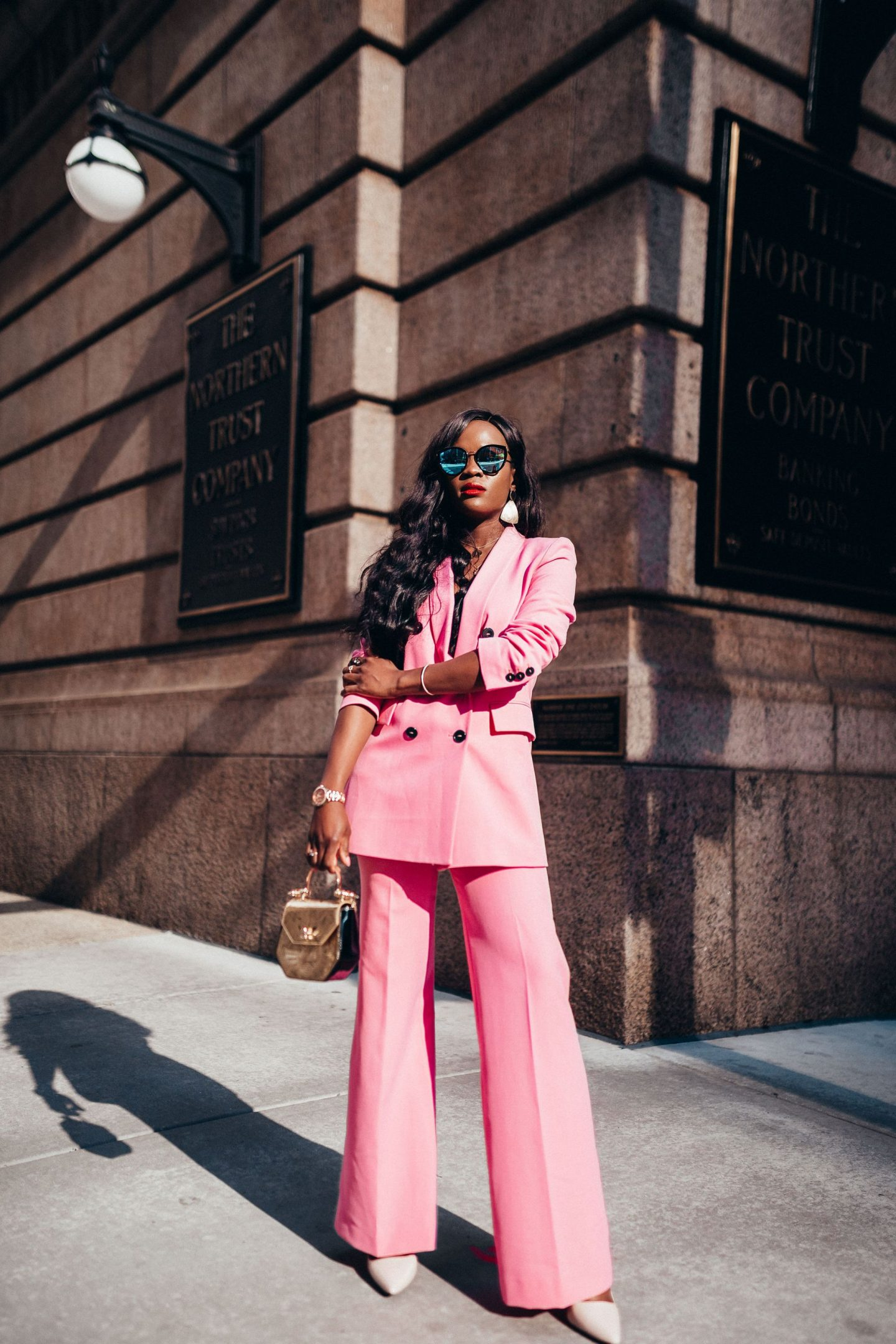 The Pink Power Suit