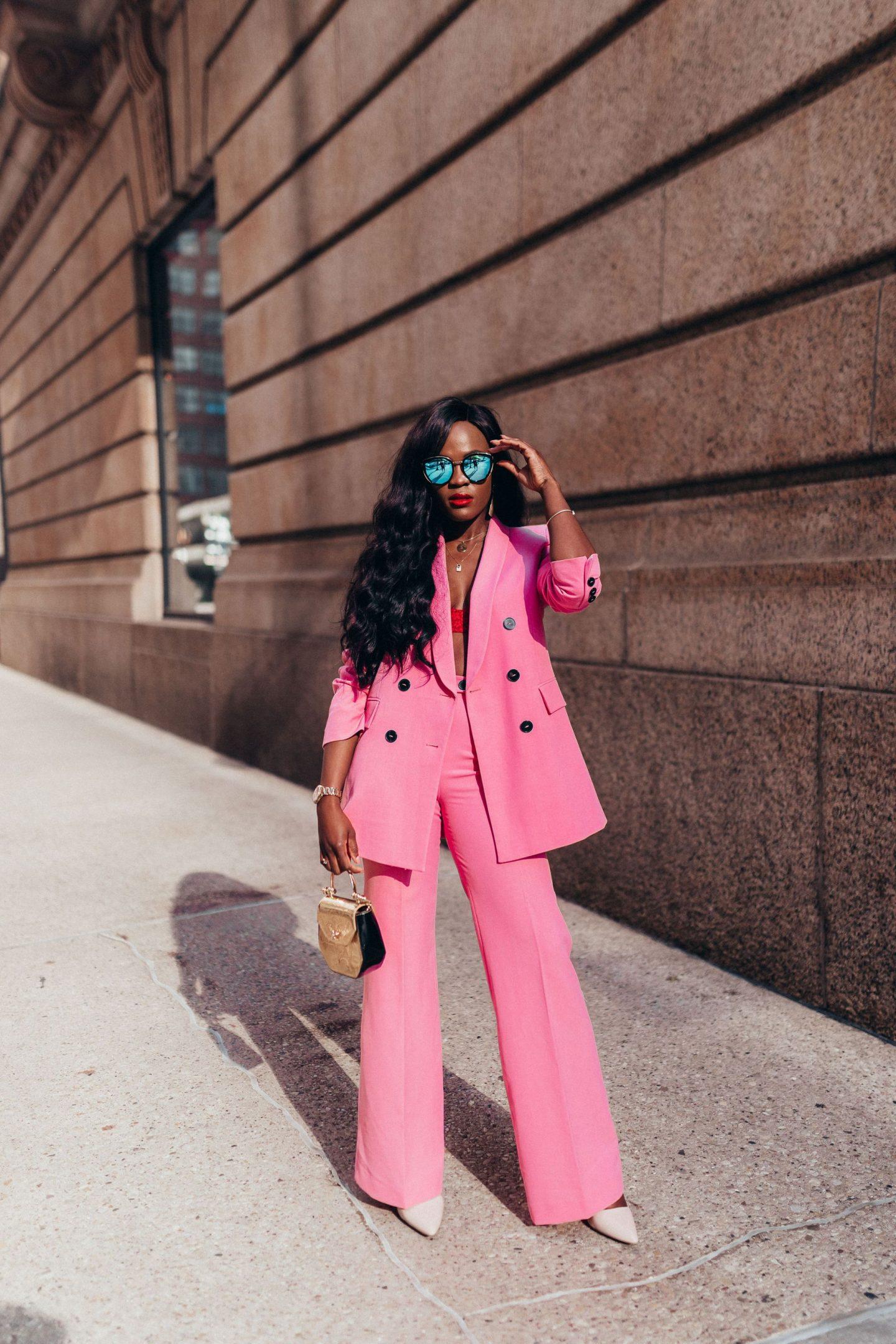 Pink Suit, Cranberry Tantrums