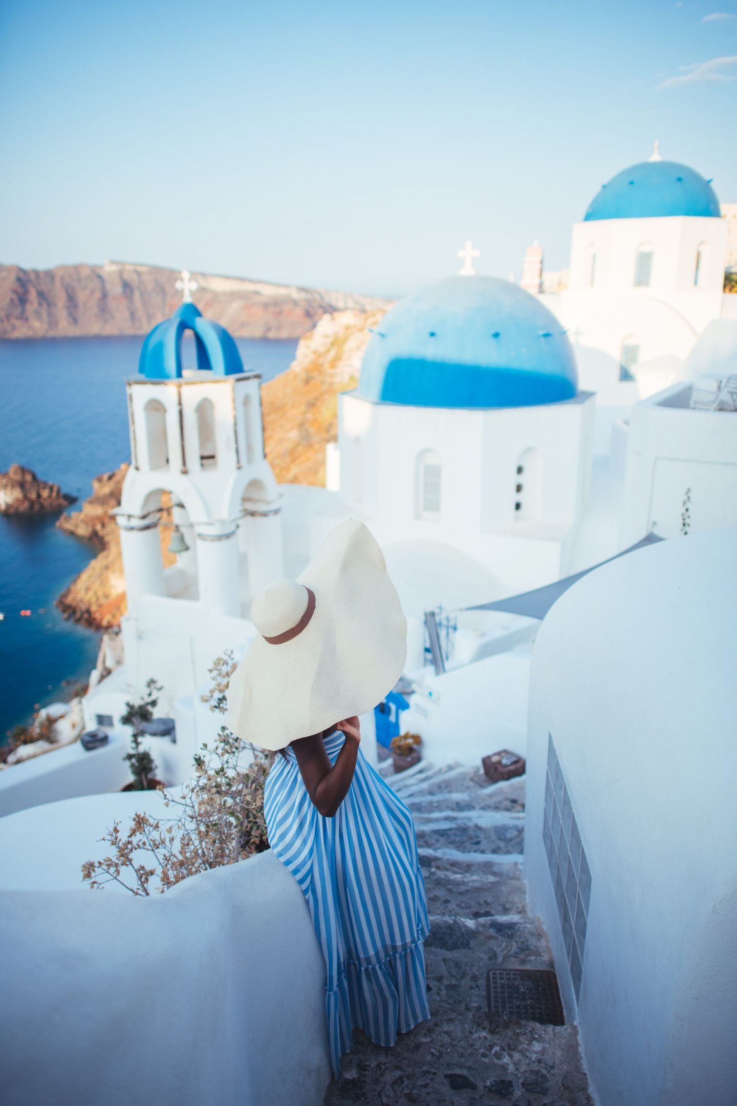 The best hats to pack for Santorini