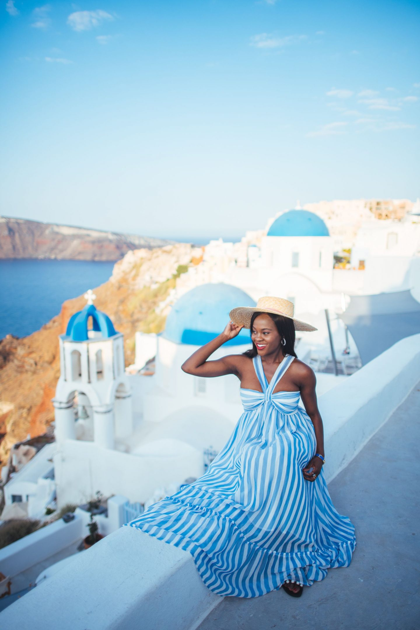Jenn Ibe, Cranberry Tantrums, Travel and Lifestyle blog, Santorini, Greece