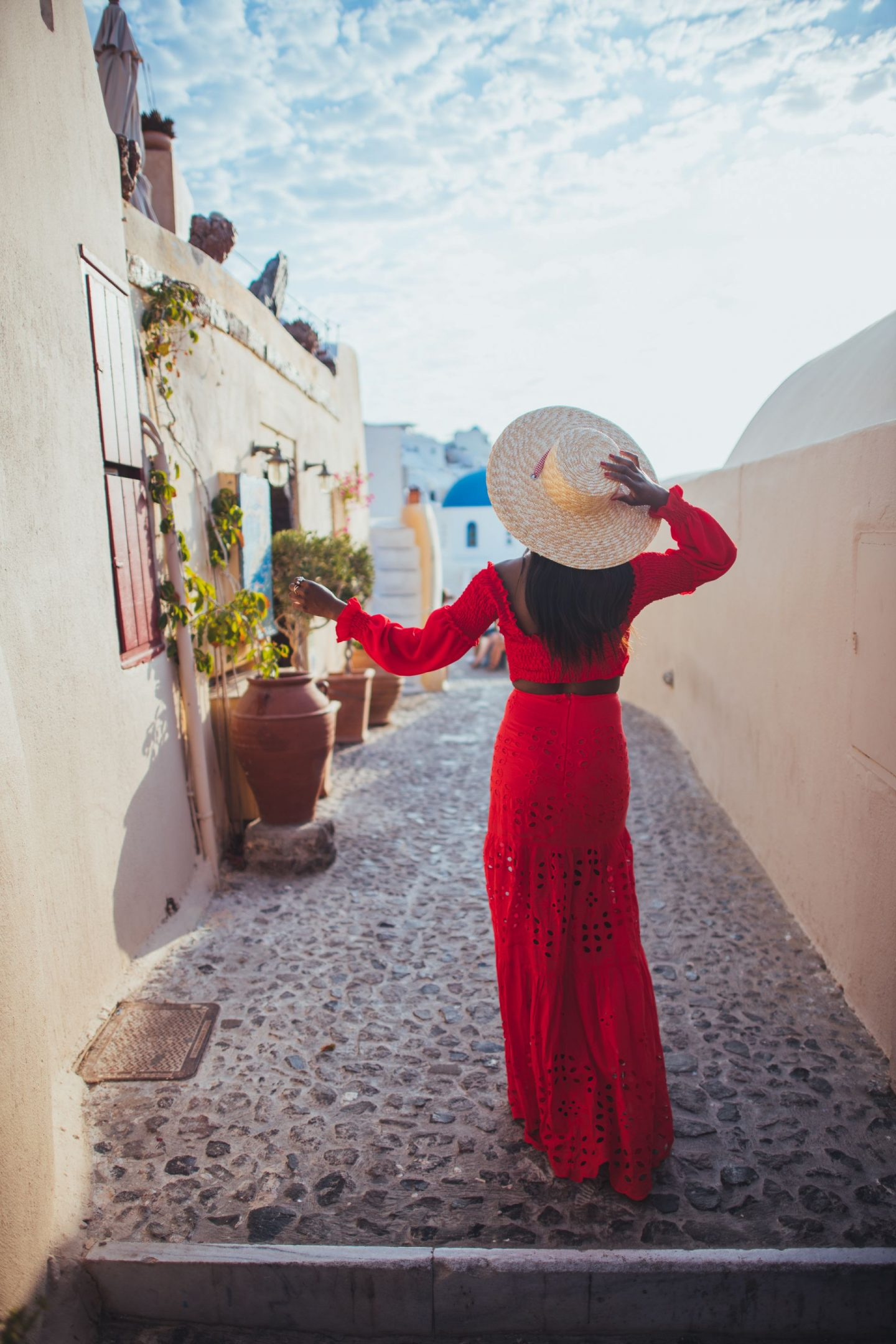 Hats to pack for Santorini