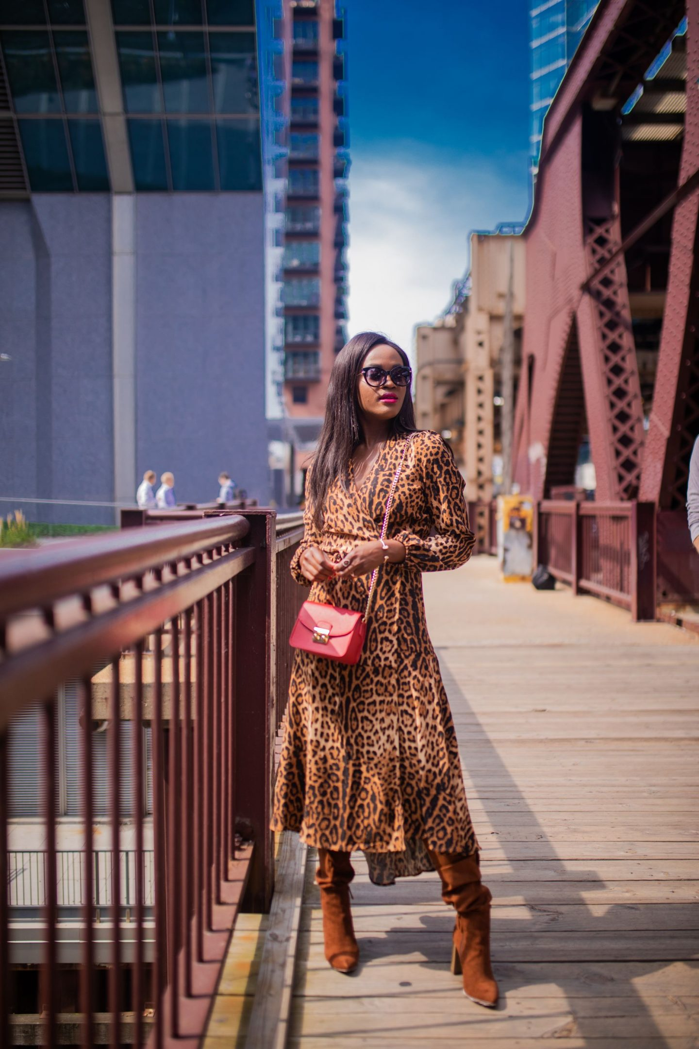 Cranberry Tantrums, How to make a statement in leopard