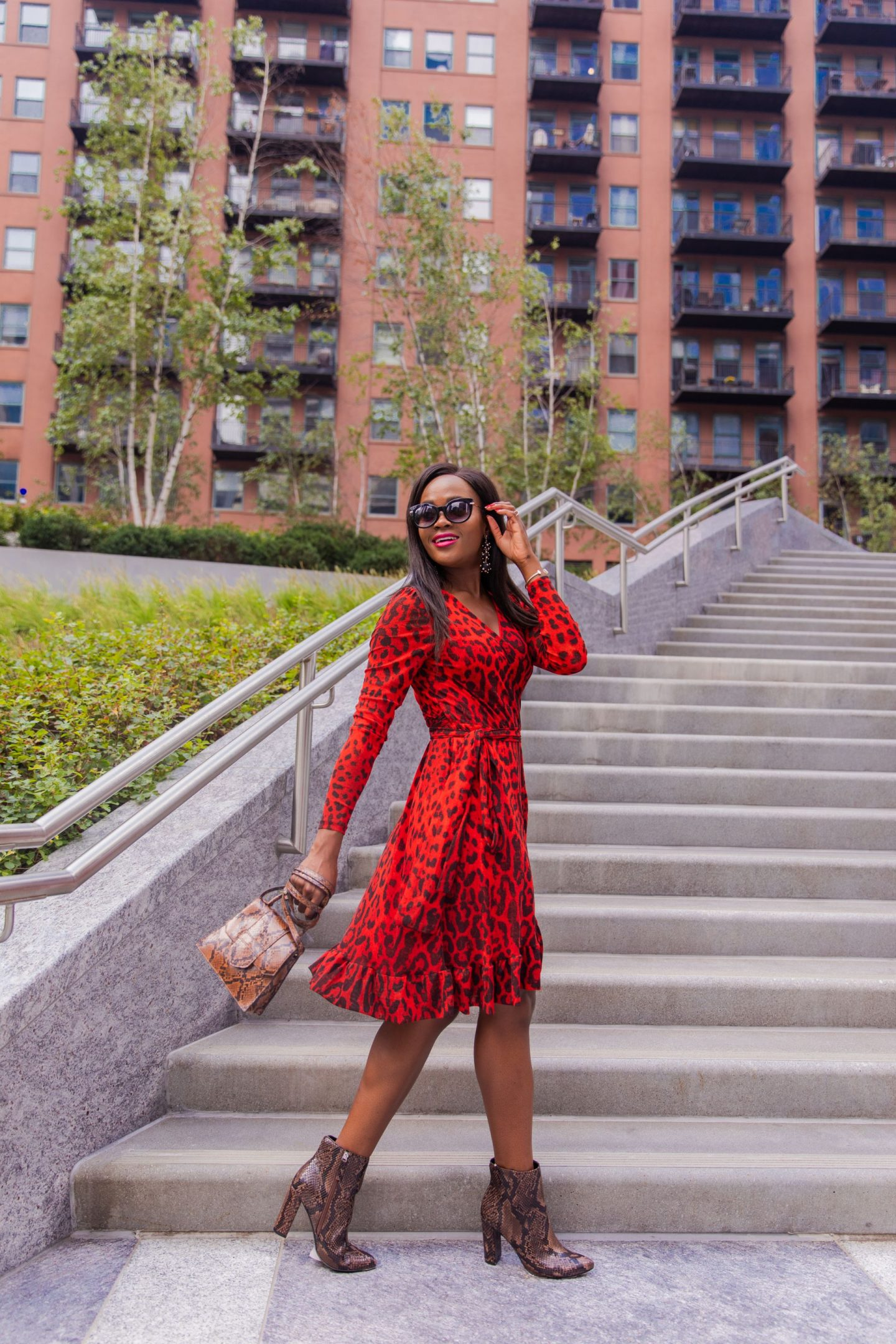 cranberry Tantrums, Jennifer Ibe, animal print outfits to wear this Fall.
