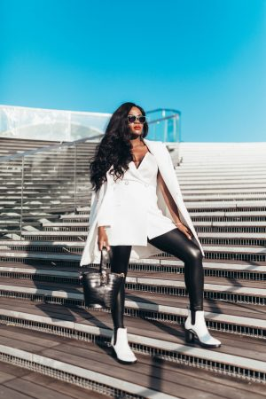 How to wear white boots like a pro