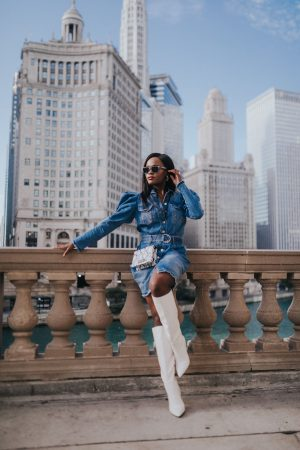 The denim dress you need right now