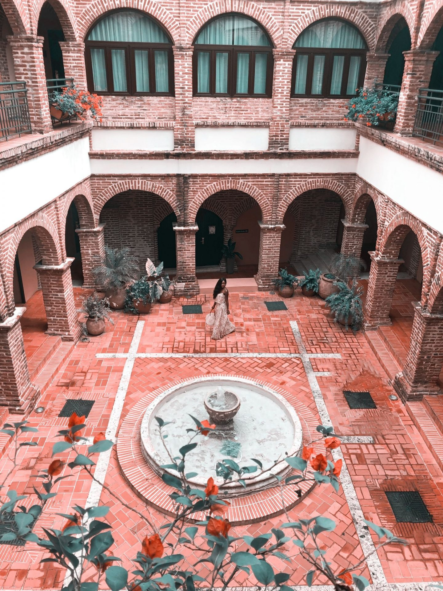 Hodelpa Nicolas de Ovando in Santo Domingo, Dominican Republic Courtyard