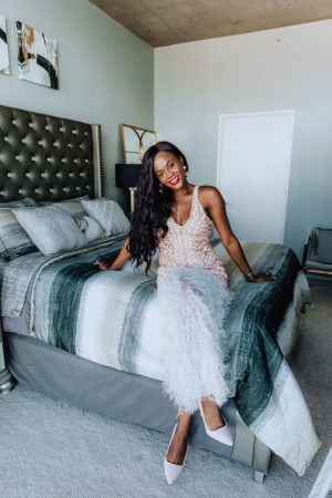 Cranberry Tantrums, Jenn Ibe's redecorated bedroom reveal