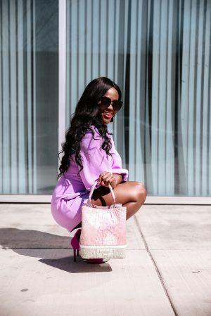 Jenn Ibe x Cranberry Tantrums x Brahmin. Affordable luxury bag brand- Amelia Whimsy $355