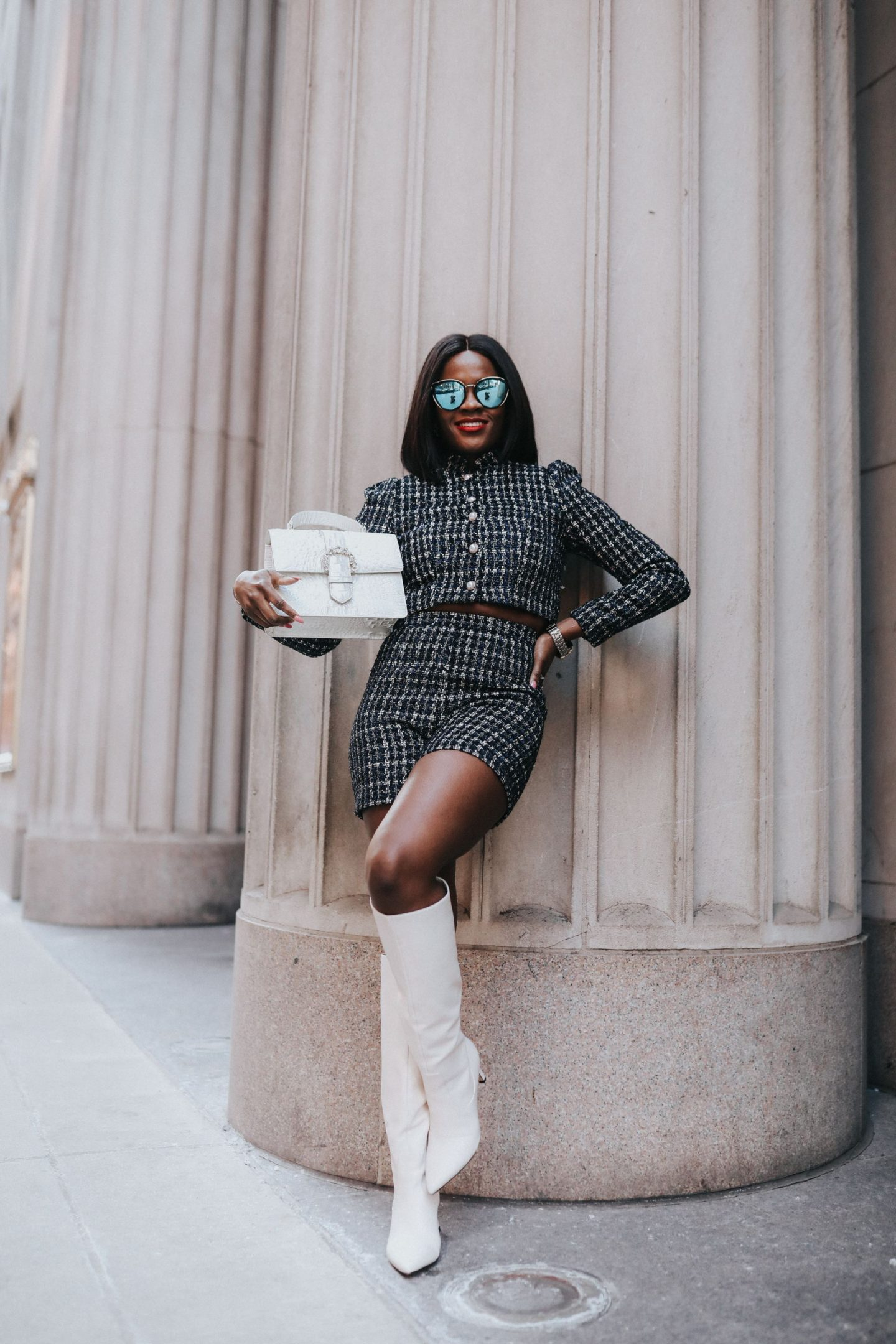How to wear two piece sets