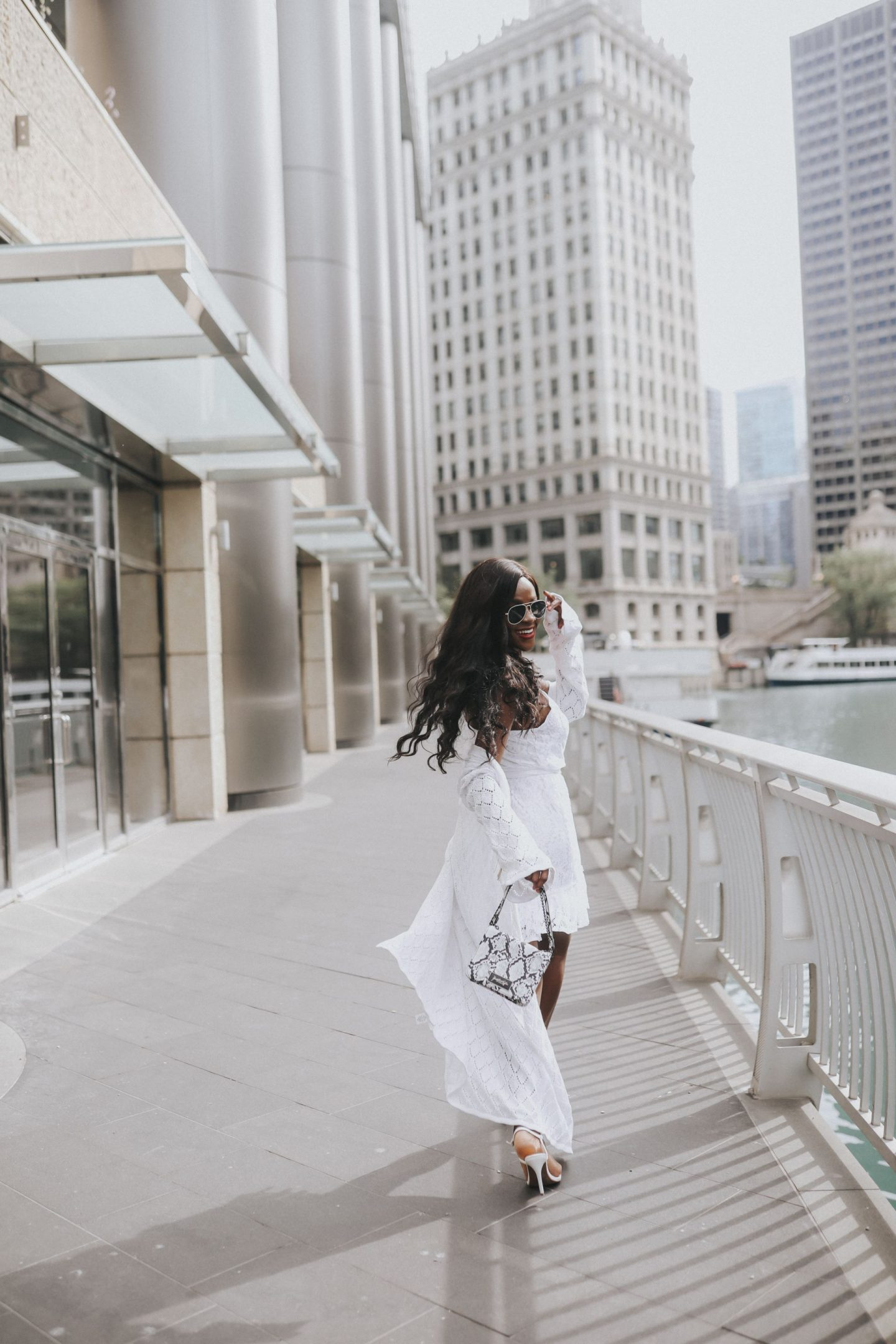Jenn Ibe, Cranberry Tantrums, how to style a white dress for a boat outing