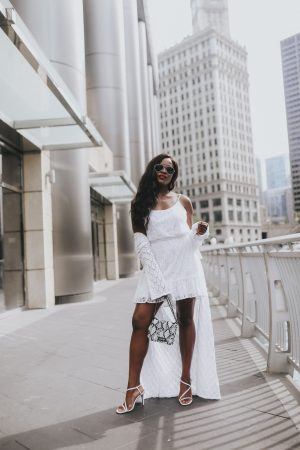 Jenn Ibe, Cranberry Tantrums, How to wear a white dress and cardigan for summer