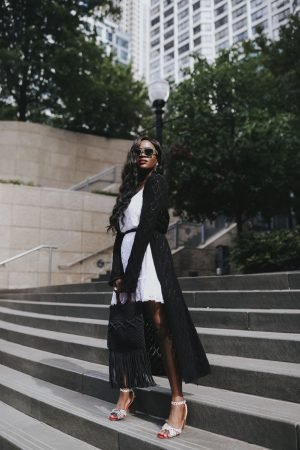 Jenn Ibe, Cranberry Tantrums, How to wear Color-blocking and Monochrome