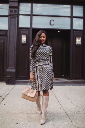 60's inspired Fall Transitional style
