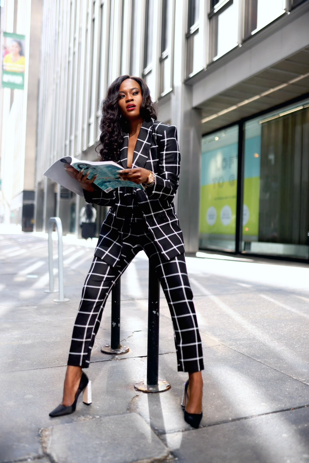 The perfect three piece suit for women